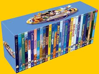 coffret dvd disney complet
