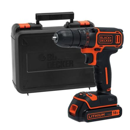 coffret perceuse visseuse black decker