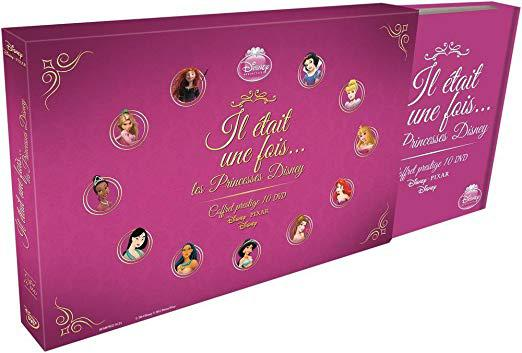 coffret princesse disney dvd