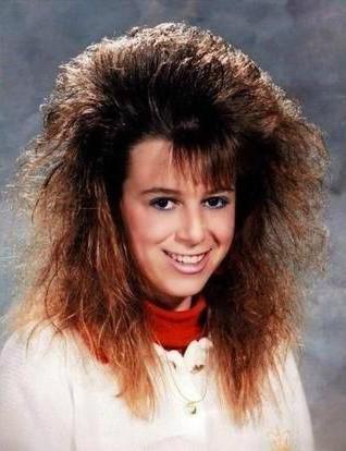 coiffure année 80 disco