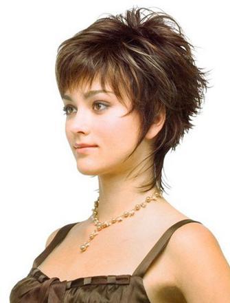 coiffure dégradé court femme