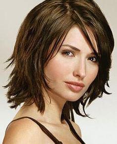 coiffure dégradé mi long femme