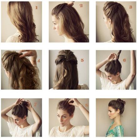 coiffure pour cheveux long facile à faire