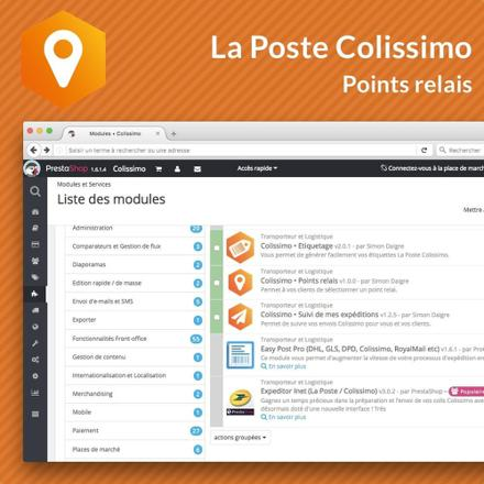 colissimo point relais