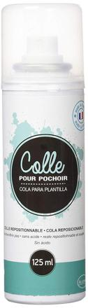 colle repositionnable pour pochoir