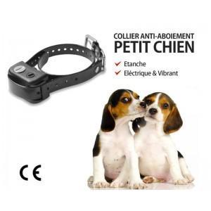 collier anti aboiement electrique pour petit chien