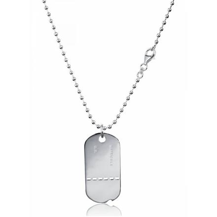 collier militaire homme