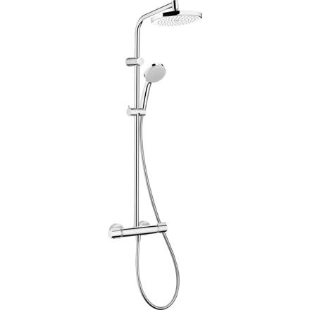 colonne de douche thermostatique hansgrohe