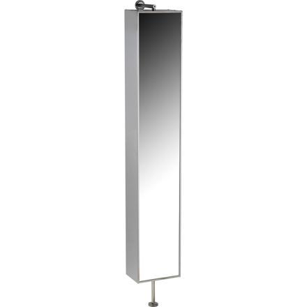 colonne salle de bain avec miroir pivotant