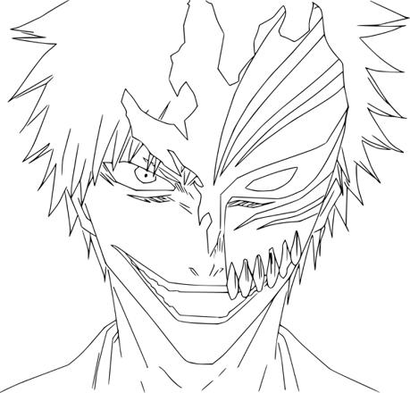 coloriage de bleach