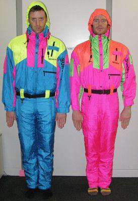 combinaison de ski année 80