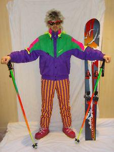 combinaison de ski vintage