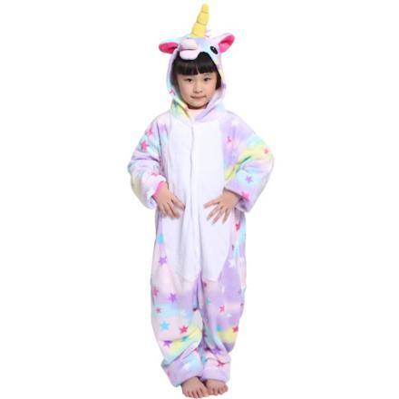 combinaison pyjama licorne enfant