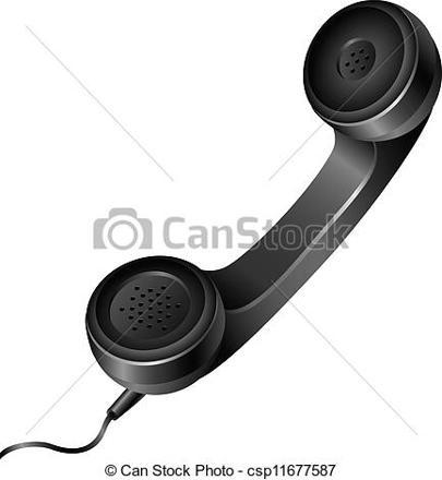 combiné du téléphone