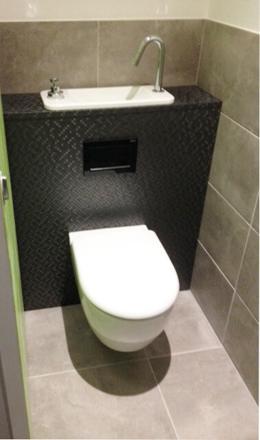 combiné wc lave main