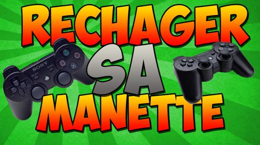 comment charger une manette ps3