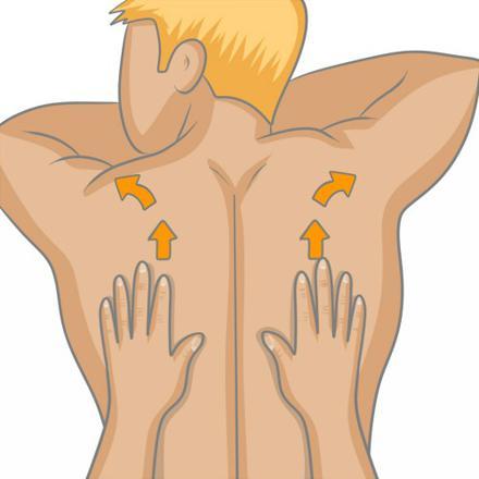 comment faire des massages au dos