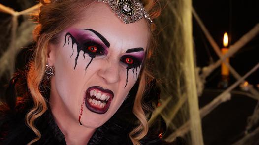 comment faire maquillage vampire