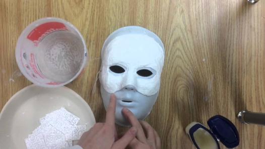 comment faire un masque en latex