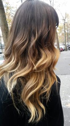 comment faire un ombré hair professionnel