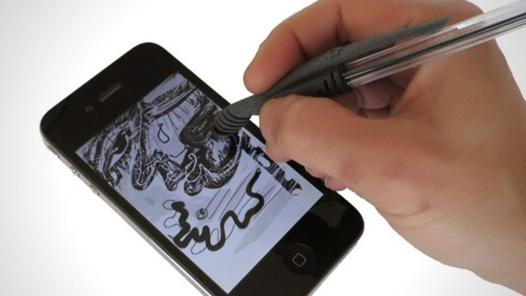 comment fonctionne stylet iphone