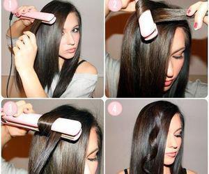 comment friser cheveux avec fer plat