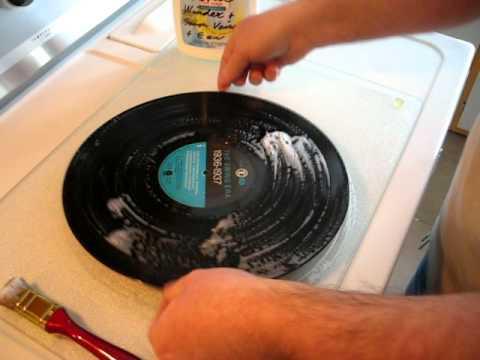 comment nettoyer un disque vinyle