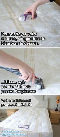 comment nettoyer un matelas