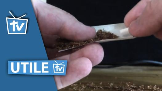 comment rouler une cigarette avec filtre