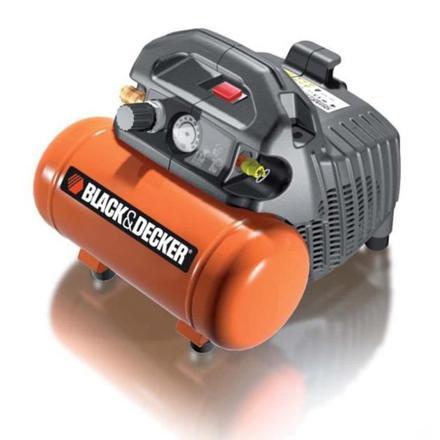 compresseur black et decker 6 litres
