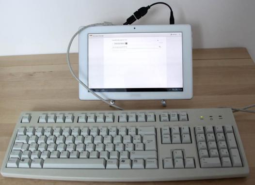 connecter tablette lenovo sur pc