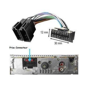 connecteur autoradio sony