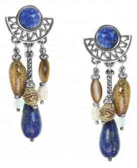 boucle d'oreille nature bijoux