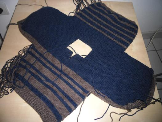 comment tricoter un pull bebe facile