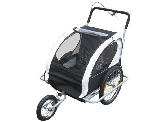 convertible jogger remorque à vélo 2 en 1