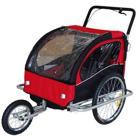 convertible jogger remorque velo 2en1