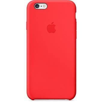coque apple rouge