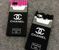 coque chanel cigarette iphone 7