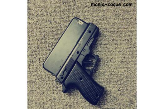 coque de telephone pistolet