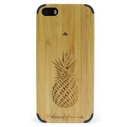 coque en bois iphone se