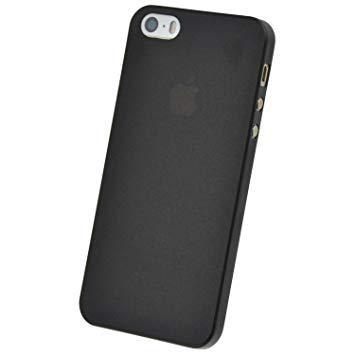 coque iphone 5c noir mat
