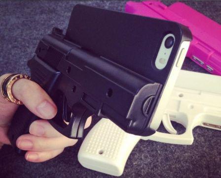 coque iphone 7 pistolet