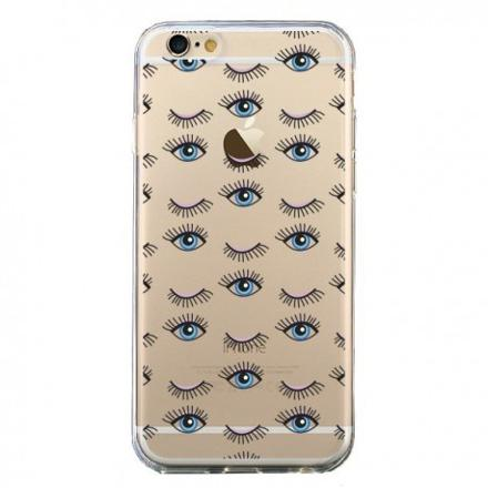 coque iphone yeux
