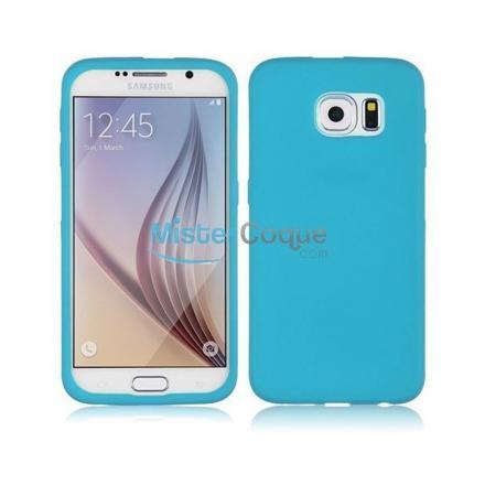 coque samsung galaxy s6 bleu