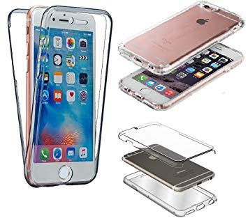 coque silicone gel intégral iphone 6 6s transparent