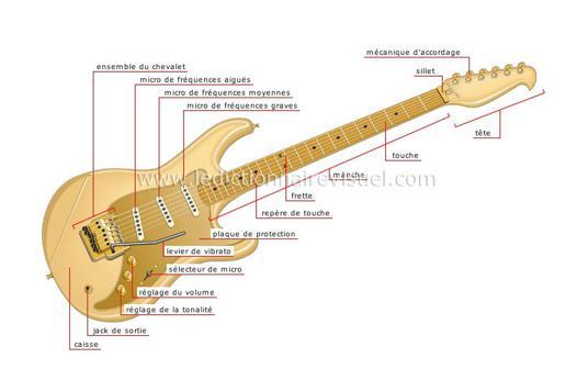 corde pour guitare electrique