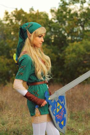 cosplay link femme