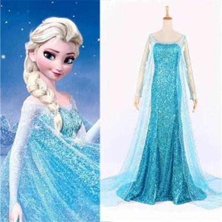 costume adulte reine des neiges