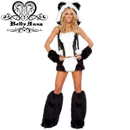 costume panda femme