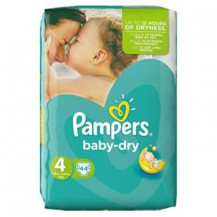 couche pampers taille 4 baby dry